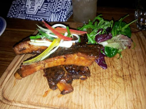 Ribs at The Rum Kitchen