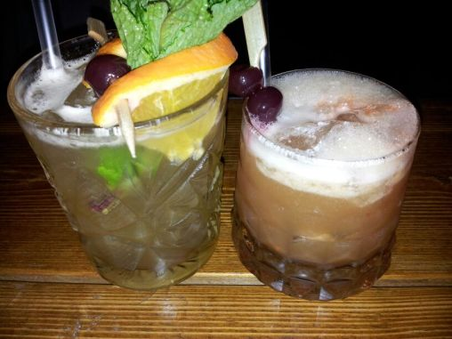 Cocktails at The Rum Kitchen