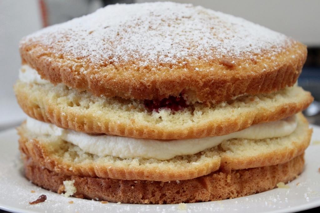 Raspberry-Cream Layer Cake Recipes — Dishmaps