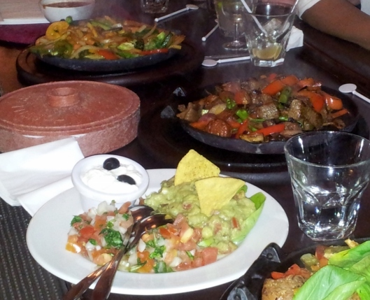 Cafe Pacifico Fajitas