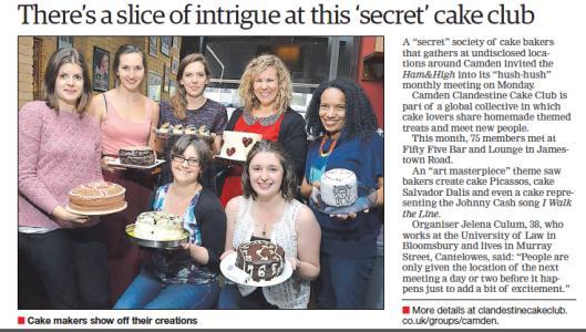 Camden Clandestine Cake Club