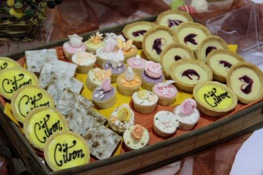 citron tart Cake & bake