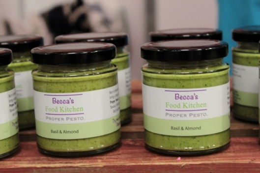 Becca's Food Kitchen Pesto