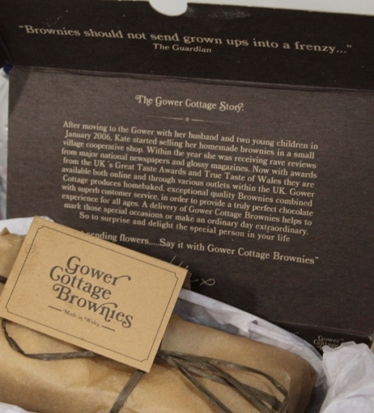 Gower Cottage Brownies BBC Good Food
