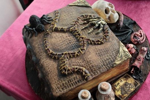 Spellbook Cake_