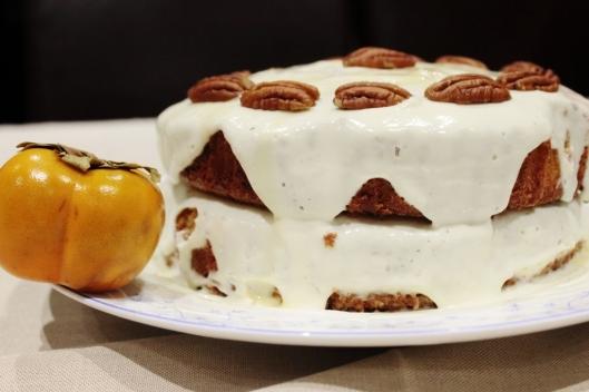 Persimmon & Yoghurt Cake