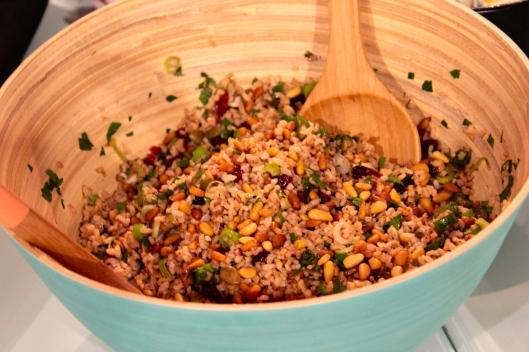 rice & cranberry salad