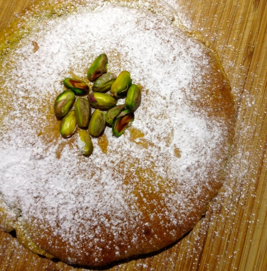 Pistachio and Olive Oil Cake | TEA and TAKES