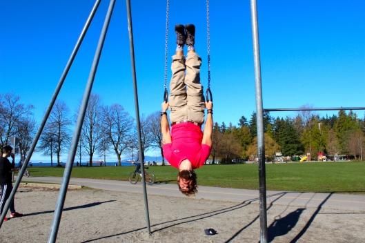 Sam in Stanley Park
