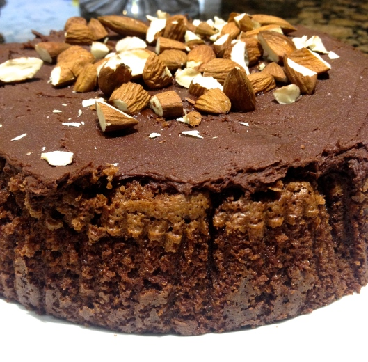 Chocolate & Amaretto cake