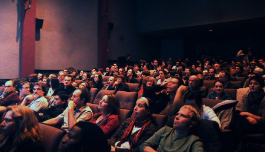 Cinematheque audience