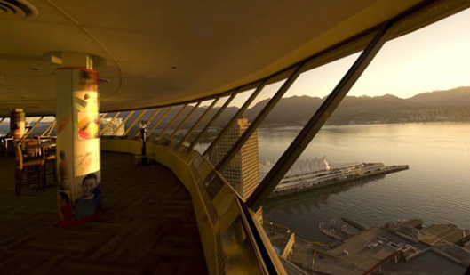 Inside Vancouver Lookout