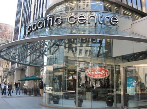 Pacific Centre Vancouver