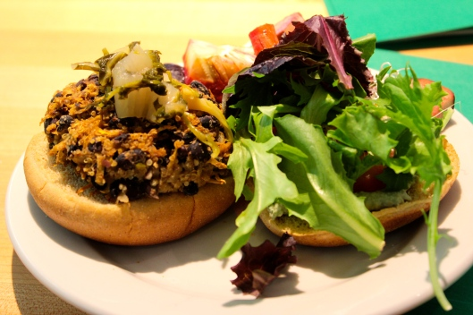 Black Bean Burger Rooted Nutrition