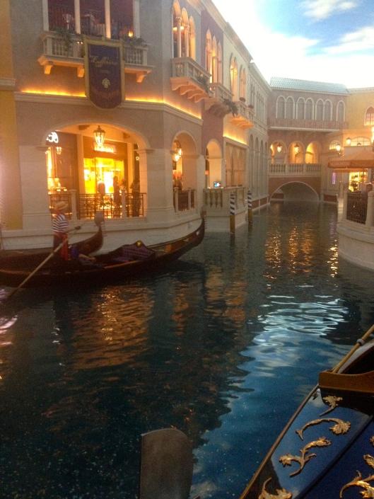 The Venetian Gondalas