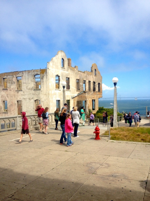 Alcatraz grounds