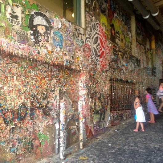 Bubblegum wall