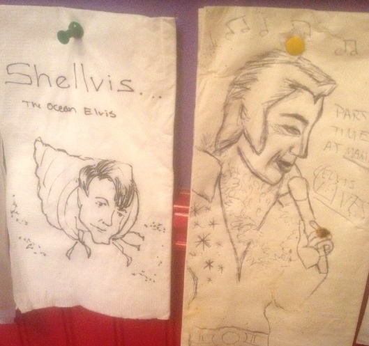 Elvis drawings