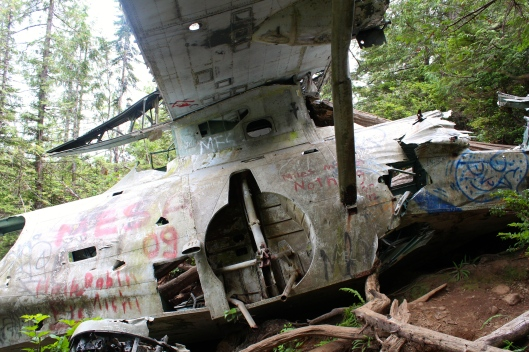 crashed plane tofino