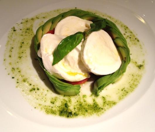 Mozarella & avocado
